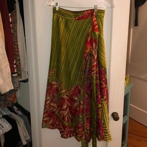 Dresses & Skirts - Vintage Layered Wrap Skirt